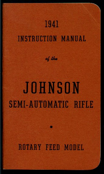 Cover of 1941 Rifle manual